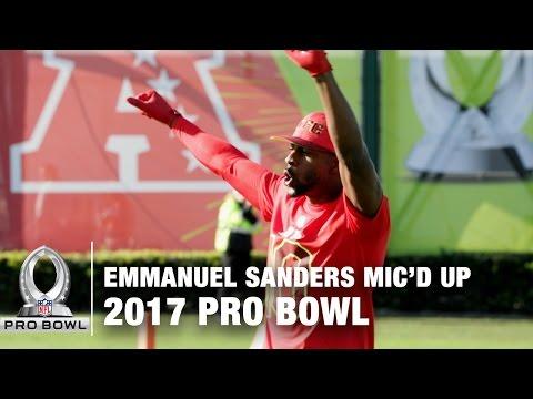 Emmanuel Sanders Mic