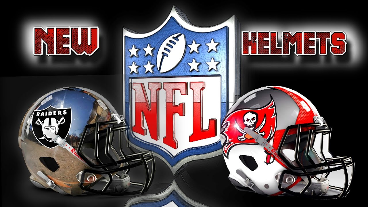 New Helmet Designs NEW NFL and NIKE The Future is Now