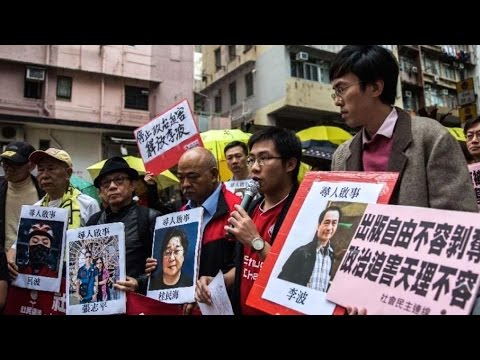 Hong Kong Booksellers Disappearing For Publishing China Criticisms