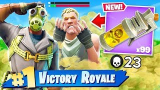 *NEW* STINK BOMB in Fortnite: Battle Royale