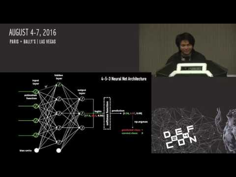 DEF CON 24 - Machine Duping 101: Pwning Deep Learning System