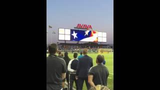 National Anthem for the 9/5/15 San Jose Earthquakes v. Philadelphia Union game!