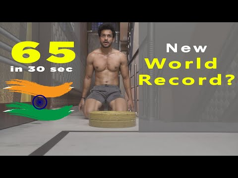 Most Push Ups In 30 Seconds | WORLD RECORD