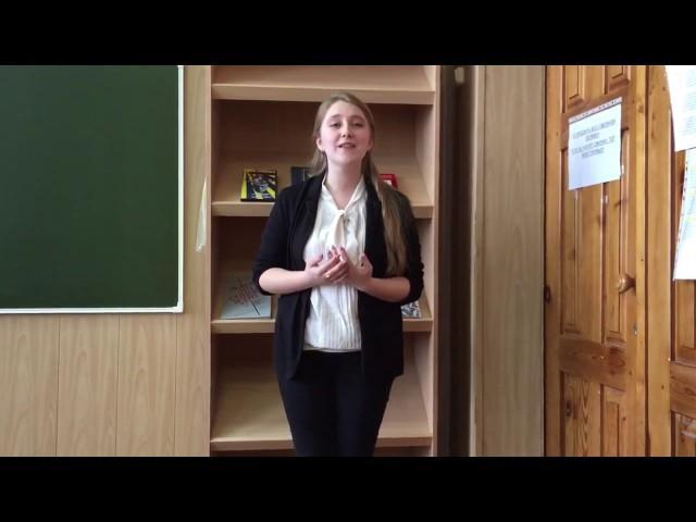 Изображение предпросмотра прочтения – ЮлияГребенникова читает произведение «Послушайте! (Послушайте! Ведь, если звезды зажигают…)» В.В.Маяковского