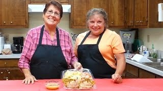 Stuffed Pork Chops & Baked Vegetable W/gravy 111