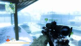 MW2 - BEST KILL EVER (Stun Across Map Direct Impact Game Winning Kill)