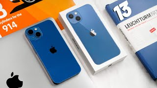 iPhone 13  UNBOXING - BLUE!