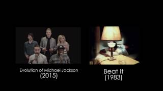 Evolution of Michael Jackson - Pentatonix (Side By Side)