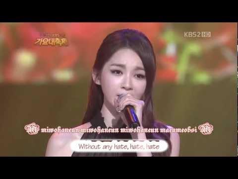 [Engsub+Romaji][111230] One Million Roses - Davichi