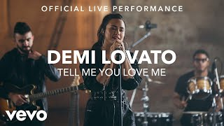 Demi Lovato Tell Me You Love Me Vevo X