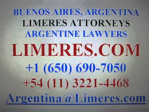 Argentine Estate Lawyers in Buenos Aires, Rosario, Mar del Plata, Cordoba : Probate Attorneys