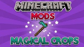 Minecraft MODs: Magical Crops (plantações de tudo!)