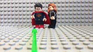LEGO BATMAN VS SUPERMAN SUPERMAN DEATH SCENE