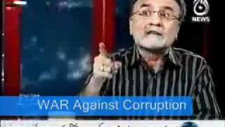 "NUSRAT JAVED TALKING AGAINST ""MAULANA TARIQ JAMEEL"""