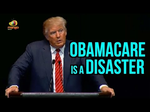 Donald Trump | ObamaCare Is A Disaster | It Is Going To Repeal | Mango News