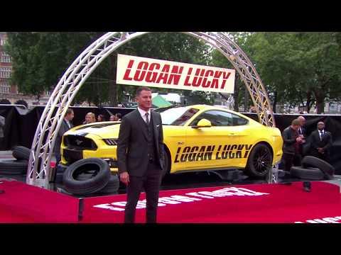 "Logan Lucky (2017 Heist Comedy-Drama) – European Premiere in London ""Raw Footage"" (11 mins)"