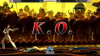 EVO2015 KOFXIII Side Tournament - Juicebox vs TKC ON Vicio