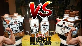 Muscle Milk VS New Muscle Milk Lite Review