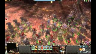 Let's Play Warhammer: Mark of Chaos - Battlemarch