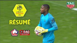 LOSC - EA Guingamp ( 3-0 ) - Résumé - (LOSC - EAG) / 2018-19