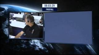 Felix Jumps At 128k feet! Red Bull Stratos - freefall from the edge official video HD
