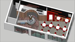 Restaurant Internal Concept