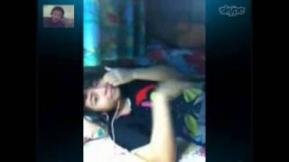 paullina with friends video calls via skype