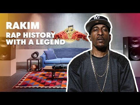 Rakim Lecture (New York 2013) | Red Bull Music Academy