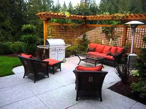 small patio ideas Small patio ideas small patio ideas pinterest - YouTube