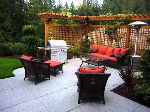Small patio ideas small patio ideas pinterest  YouTube