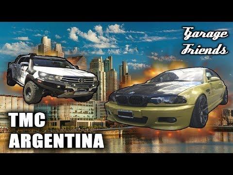 HILUX DE RALLY EN JUNTADA TMC ARGENTINA | Vlog #1 | Garage friends |