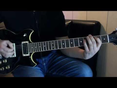 Цой Перемен/ партия Юрия Каспаряна/ соло перемен на гитаре(кавер-версия)