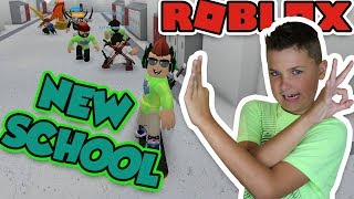 GOING TO A NEW SCHOOL in ROBLOX