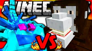 ARCTIC SCORPION VS VS KING KONG - Minecraft Batalha de Mobs - Minecraft Mods