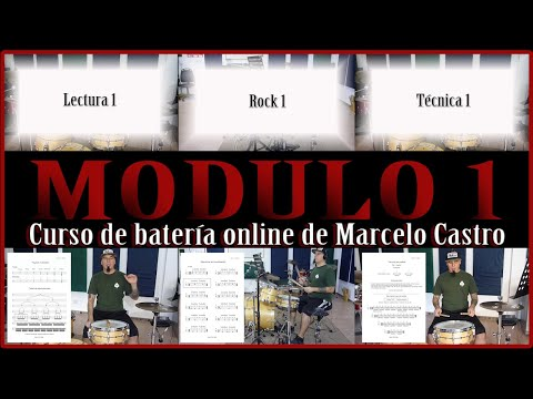 Trailer Módulo 1 del Curso de batería online