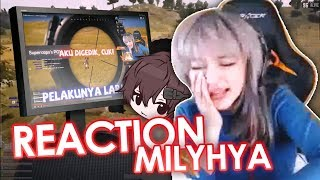 Nonton video MILYHYA : PUBG 100% KEBODOHAN (REACTION)