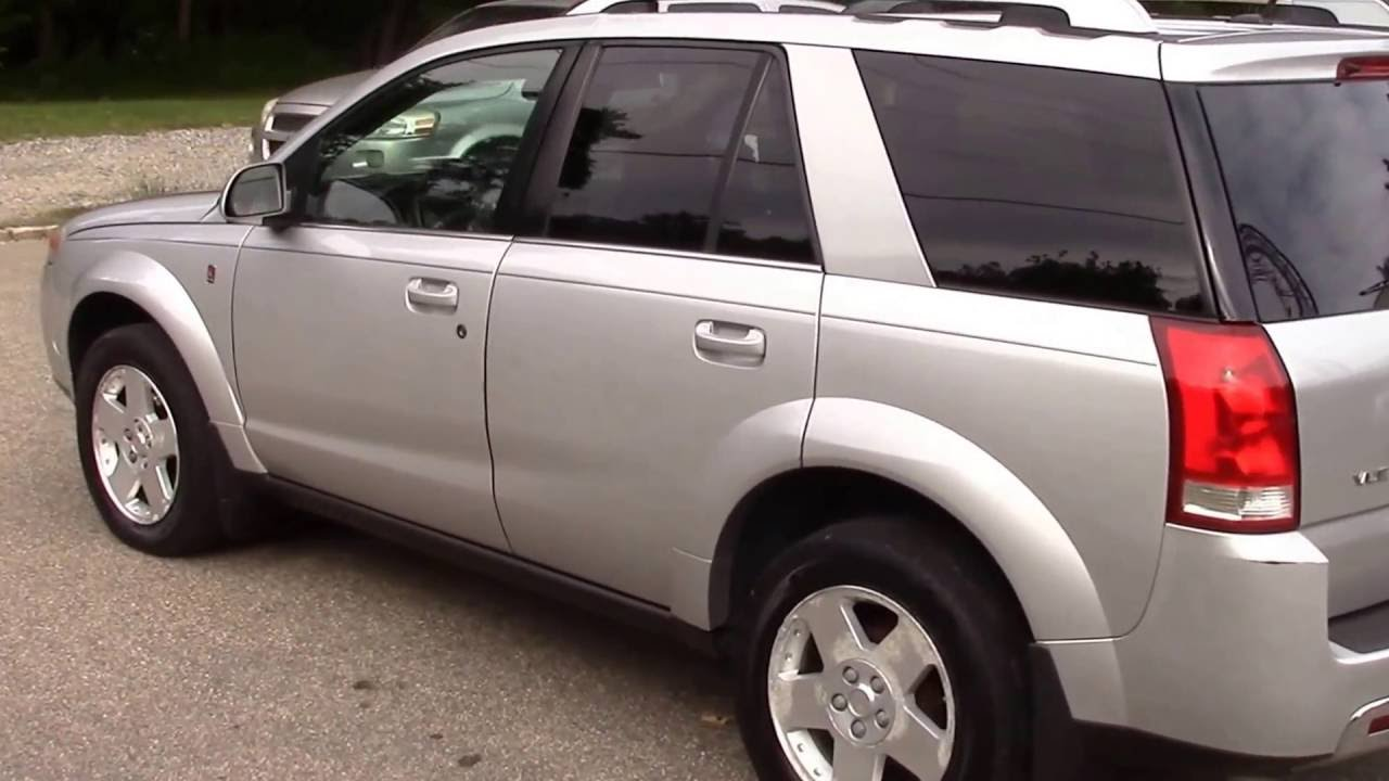 2006 Saturn Vue Awd V 6 Silver For