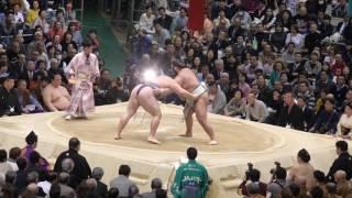 2017.3.22 大相撲 4K 高画質 3.22 2017 大阪場所 三月場所 横綱.