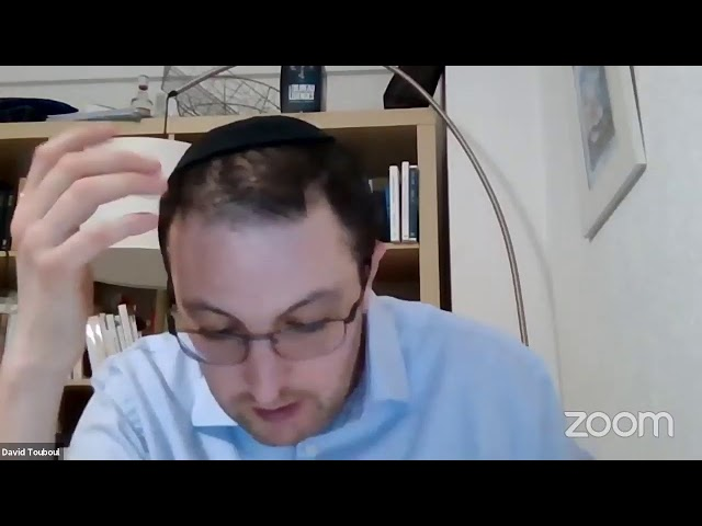 Le Judaïsme au commencement 18 novembre 2020