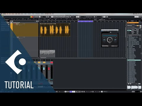 Mono To Stereo | Effects and Plug-ins Included in Cubase