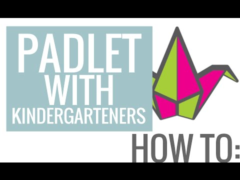 How To: Padlet (Kindergarten Tutorial)