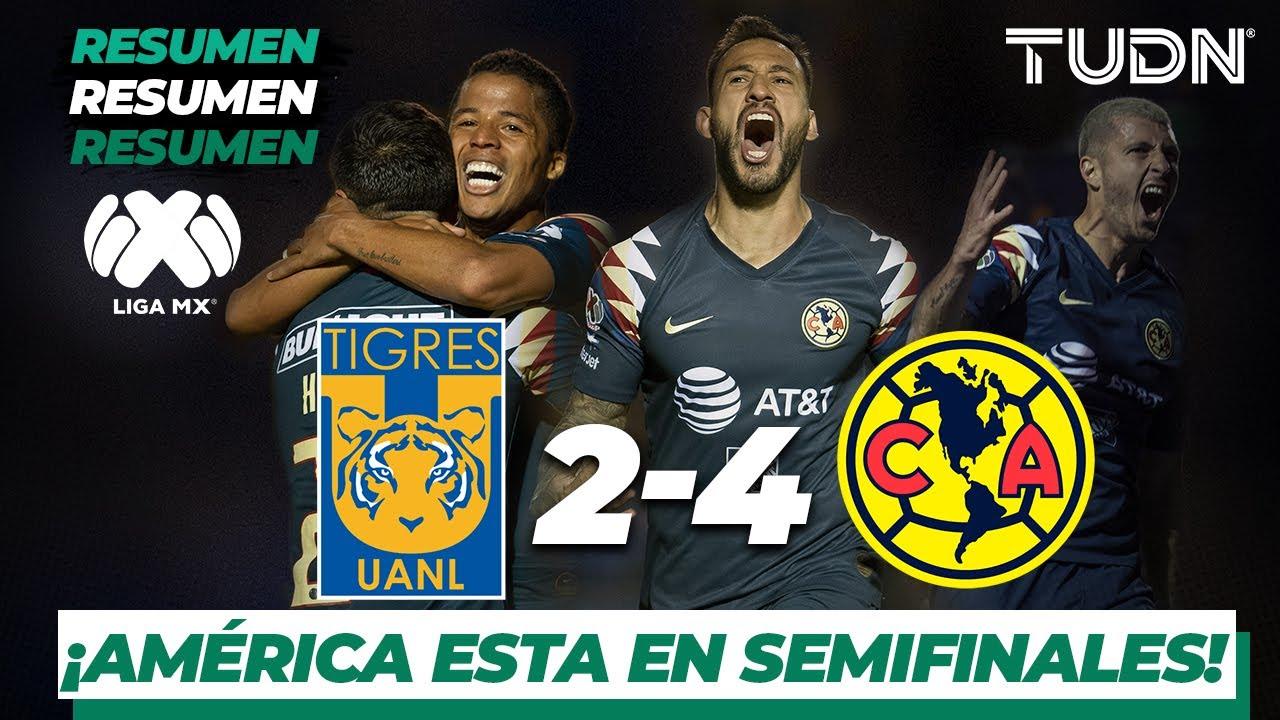 Donde ver Partido de vuelta 4tos de Final Amrica Vs Tigres ...