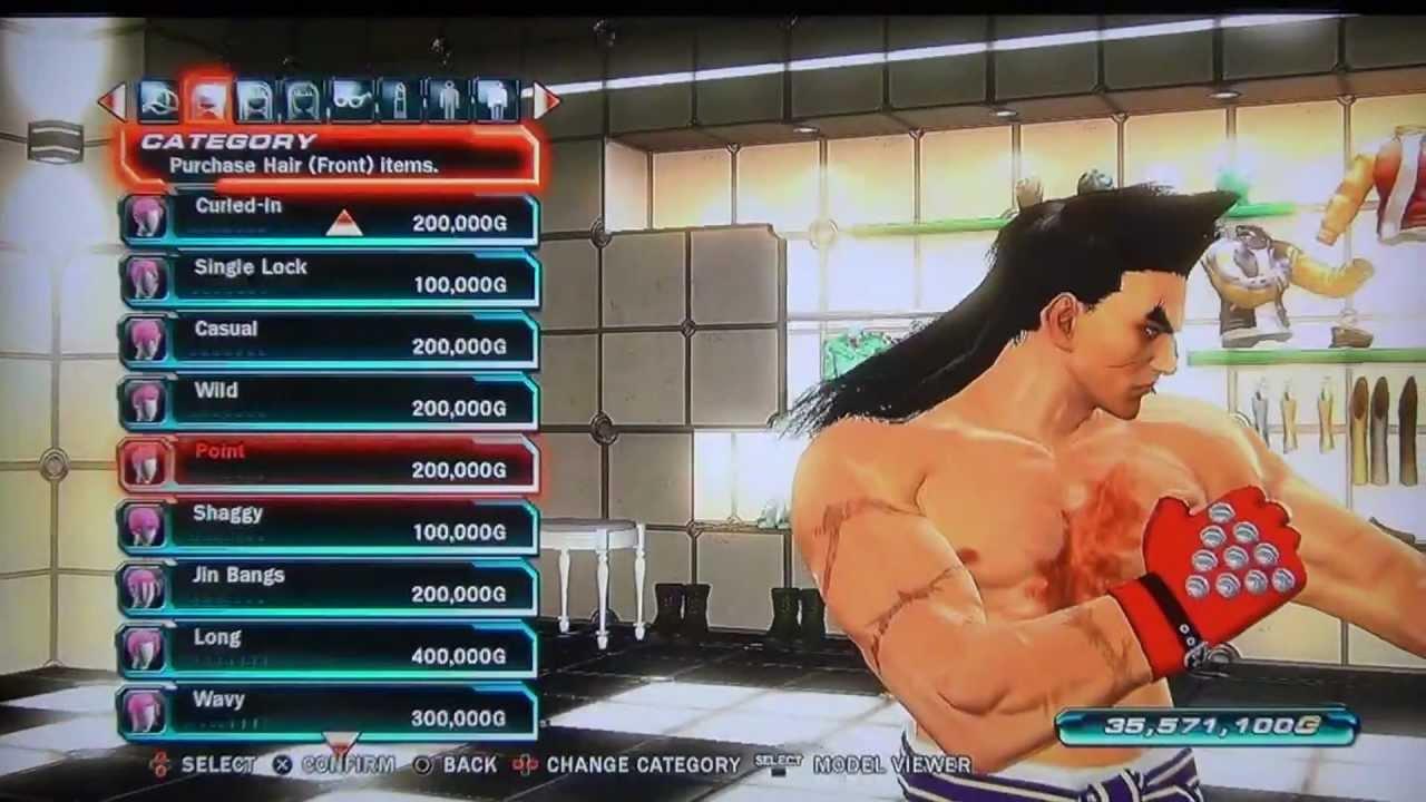 Tekken tag 2 kazuya customization
