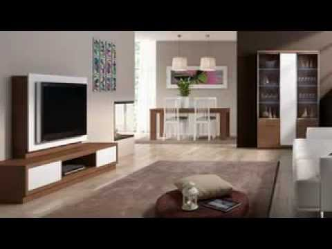 Salon comedor decorar el salon youtube - Decorar salon cuadrado ...