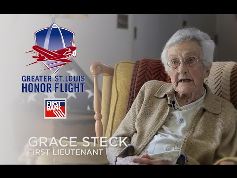 First Bank Honor Flight - A Tribute to Army Nurse Corps First Lieutenant Grace Steck
