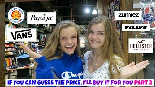 If You Can Guess the Price I'll Buy It for You Challenge Part 2 ~ Jacy and Kacy