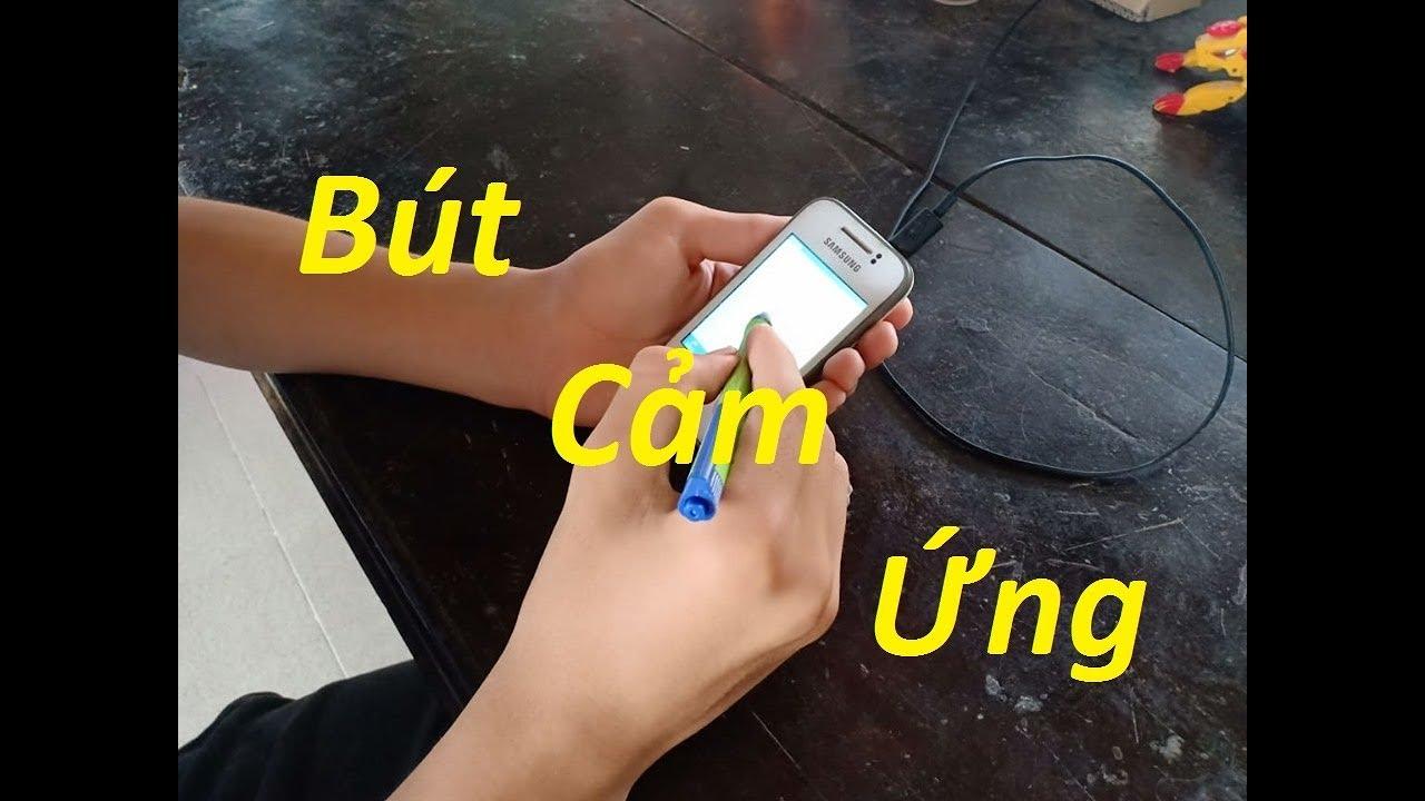Hướng dẫn chế bút cảm ứng đơn giản thú vị V2