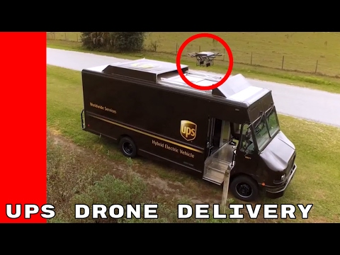 UPS Drone Delivery