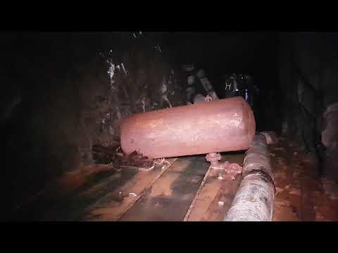 1.5km Underground in the Yankee Girl Mine (Wildhorse Adit)