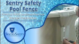 Video Premium Guard - Above Ground Pool Fence Bracket Installation download MP3, 3GP, MP4, WEBM, AVI, FLV Agustus 2018